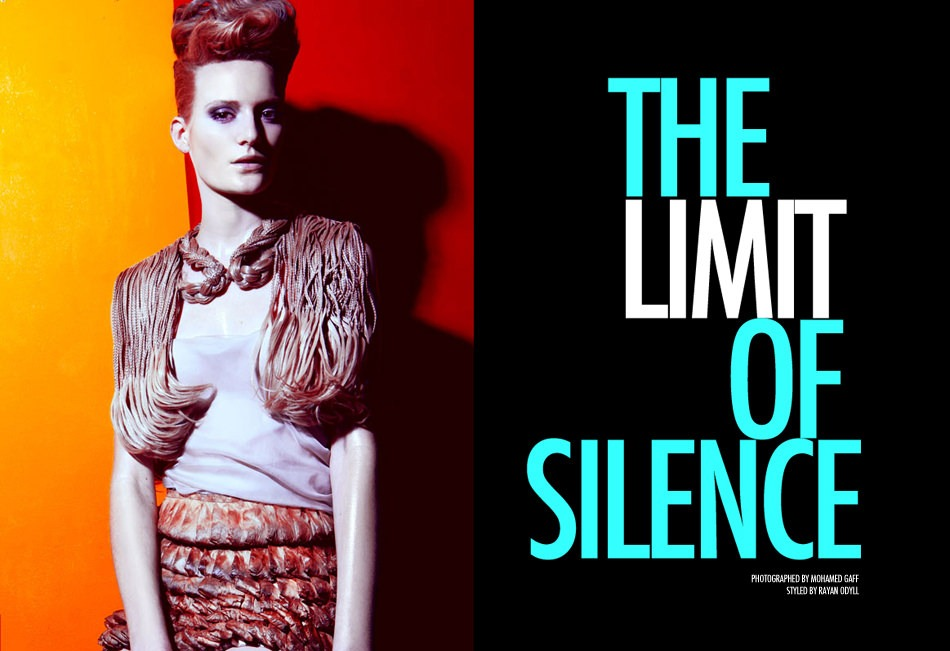 The Limit of Silence MOGA Magazine- Photograph Mo Gaff